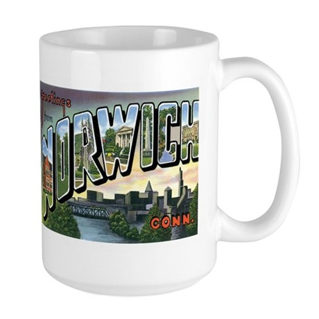 Norwich Connecticut CT Large Mug