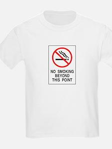 No Smoking Beyond This Point T-Shirt