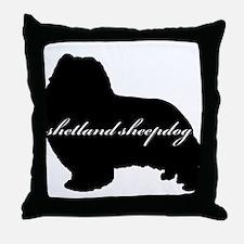 Sheltie DESIGN Throw Pillow