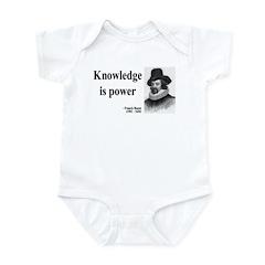 Francis Bacon Quote 1 Infant Bodysuit