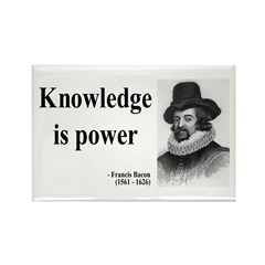 Francis Bacon Quote 1 Rectangle Magnet (100 pack)
