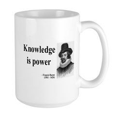 Francis Bacon Quote 1 Mug