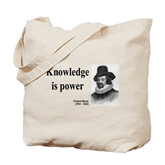 Francis Bacon Quote 1 Tote Bag