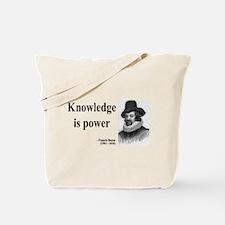 Francis Bacon Quote 1 Tote Bag