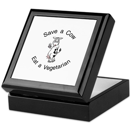 Save A Cow, Eat A Vegetarian Keepsake Box