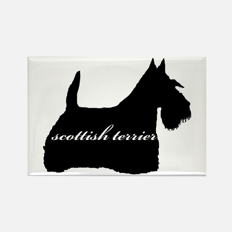 Scottie DESIGN Rectangle Magnet