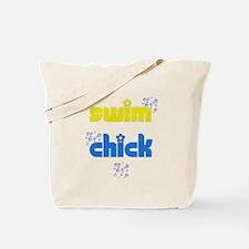Swim Chick Tote Bag
