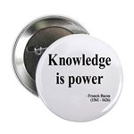 "Francis Bacon Text 1 2.25"" Button (100 pack)"