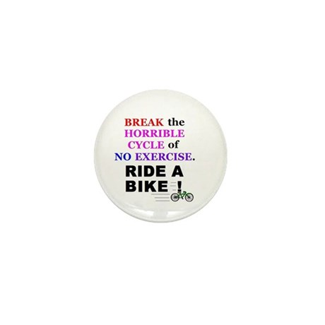 BREAK THE HORRIBLE CYCLE OF N Mini Button (10 pack