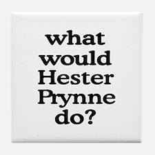 Hester Prynne Tile Coaster