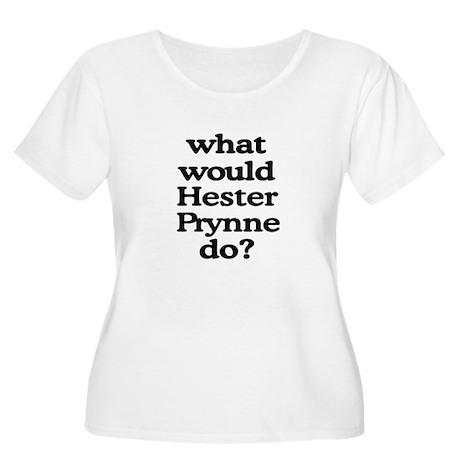 Hester Prynne Women's Plus Size Scoop Neck T-Shirt
