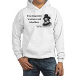 Francis Bacon Quote 2 Hooded Sweatshirt