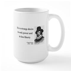 Francis Bacon Quote 2 Large Mug