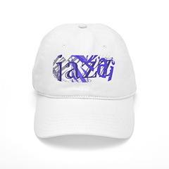 Jazz Blue on Blue Baseball Cap