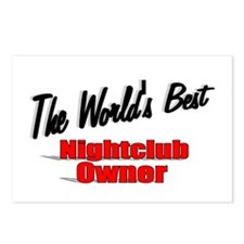 """""""The World's Best Nightclub Owner"""" Postcards (Pack"""