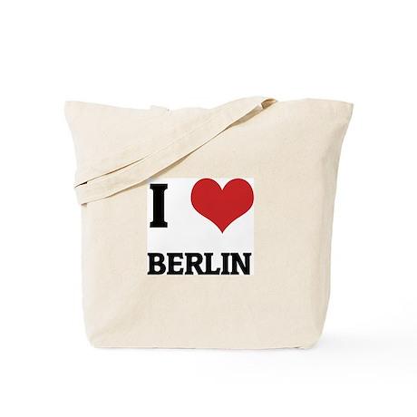 I Love Berlin Tote Bag