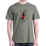 Geckos Rock Dark T-Shirt