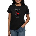 Geckos Rock Women's Dark T-Shirt