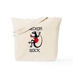 Geckos Rock Tote Bag