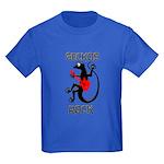 Geckos Rock Kids Dark T-Shirt