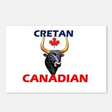 Proud to be Cretan Canadian! Postcards (Package of