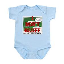 Poker Bluffer Infant Creeper