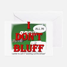 Poker Bluffer Greeting Cards (Pk of 10)