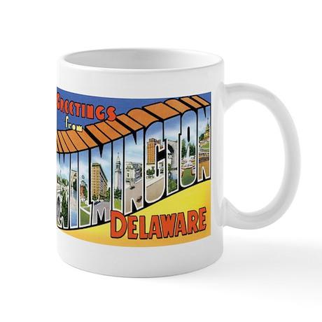 Wilmington Delaware DE Mug