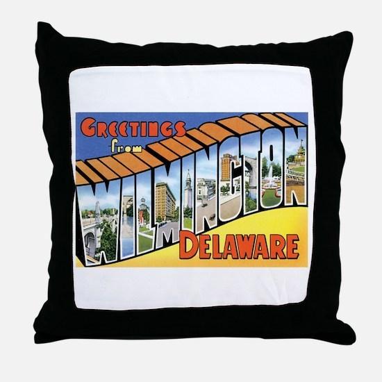Wilmington Delaware DE Throw Pillow