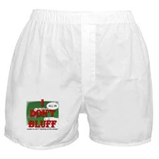 Poker Bluffer Boxer Shorts