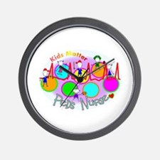 Unique Pediatric nurses Wall Clock