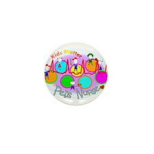 Cute Pediatric nurse Mini Button (10 pack)