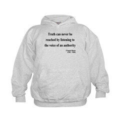 Francis Bacon Text 3 Hoodie