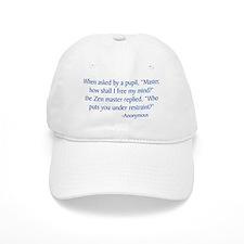Zen Master Baseball Baseball Cap