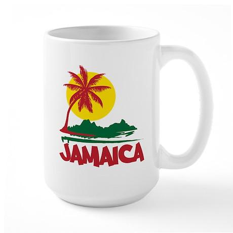 Jamaica Sunset Large Mug