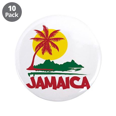 "Jamaica Sunset 3.5"" Button (10 pack)"