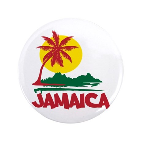 "Jamaica Sunset 3.5"" Button"