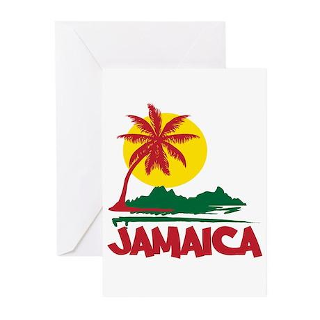 Jamaica Sunset Greeting Cards (Pk of 20)