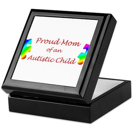 Autism Mom Keepsake Box