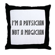 Physician Throw Pillow