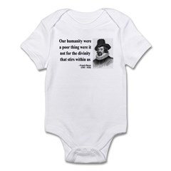 Francis Bacon Quote 4 Infant Bodysuit