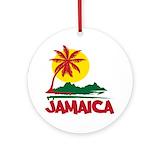 Jamaica Round Ornaments