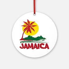 Jamaica Sunset Ornament (Round)