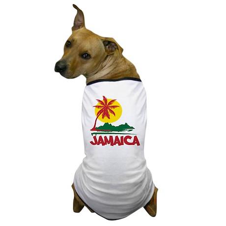 Jamaica Sunset Dog T-Shirt