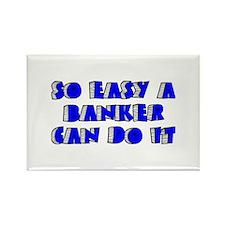 Banker Rectangle Magnet (10 pack)