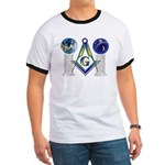 Masonic Globes Ringer T