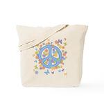 Peace & Butterflies Tote Bag