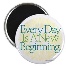 "New Beginnings 2.25"" Magnet (10 pack)"