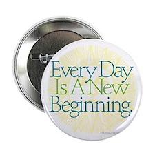 """New Beginnings 2.25"""" Button (100 pack)"""