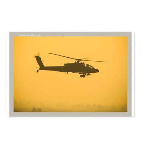 AH-64 Apache Attack Helicopte Postcards (Package o